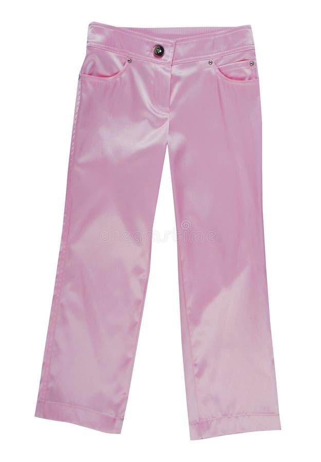 桃红色裤子 图库摄影
