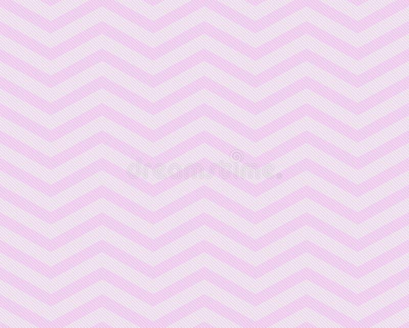 桃红色雪佛之字形织地不很细织品样式背景 库存图片