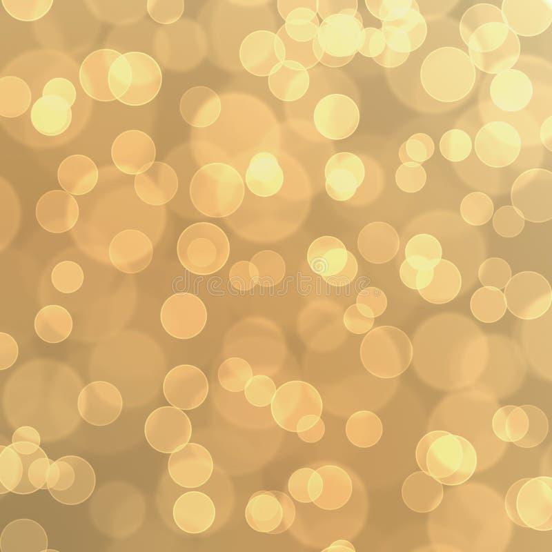 桃红色黄绿色Bokeh闪烁气球摘要背景 免版税库存照片