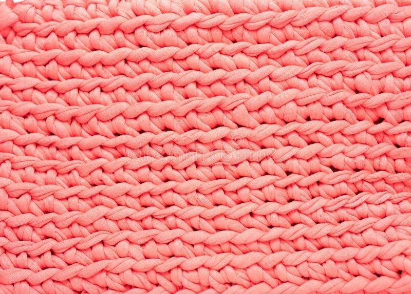 桃红色织法样式纹理背景 库存图片