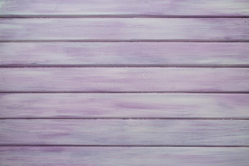 桃红色/紫色真正的木纹理背景 库存照片