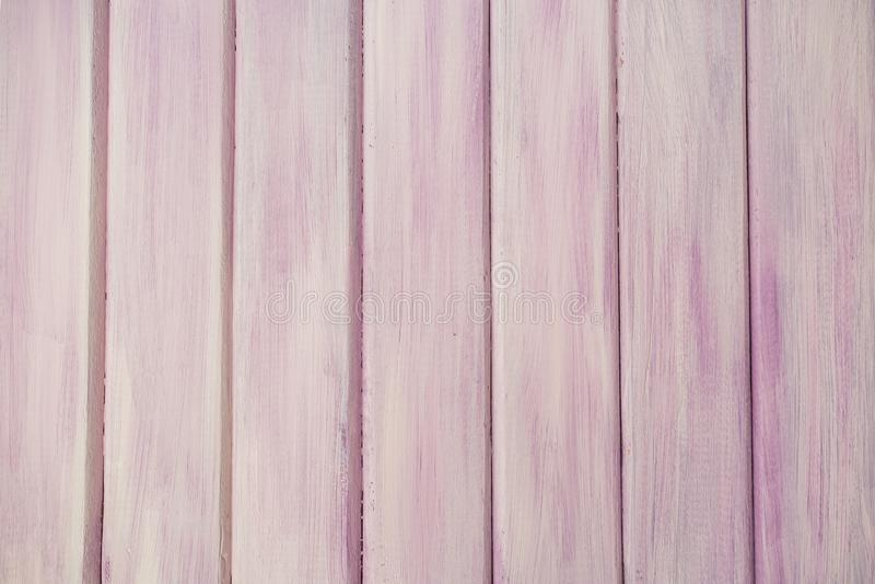 桃红色/紫色真正的木纹理背景 图库摄影