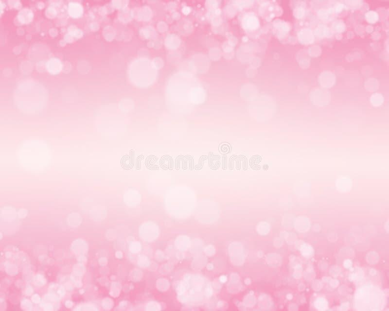 桃红色Bokeh背景 图库摄影