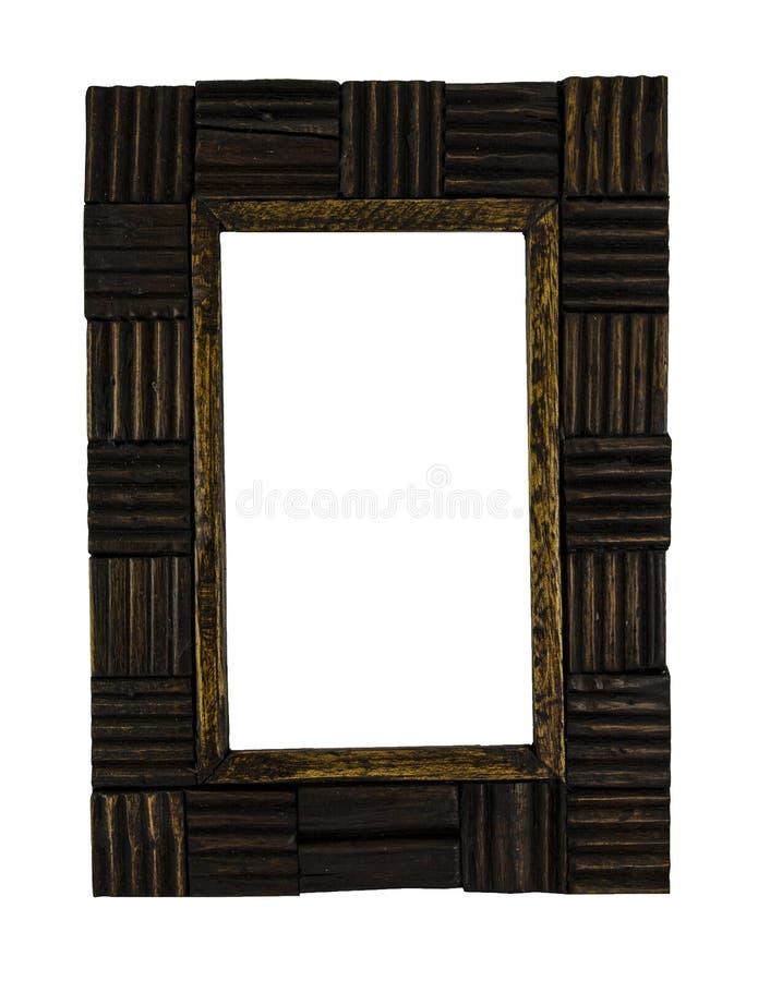 画框做了†‹â€ ‹木头 库存图片