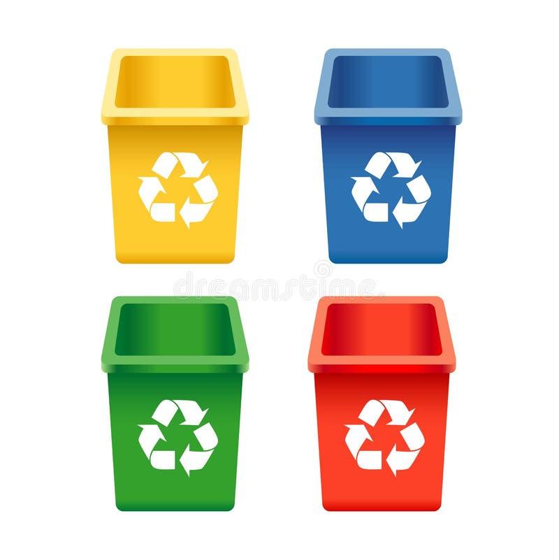 框回收 向量例证