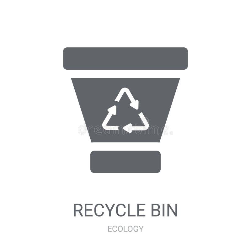 框图标回收  向量例证