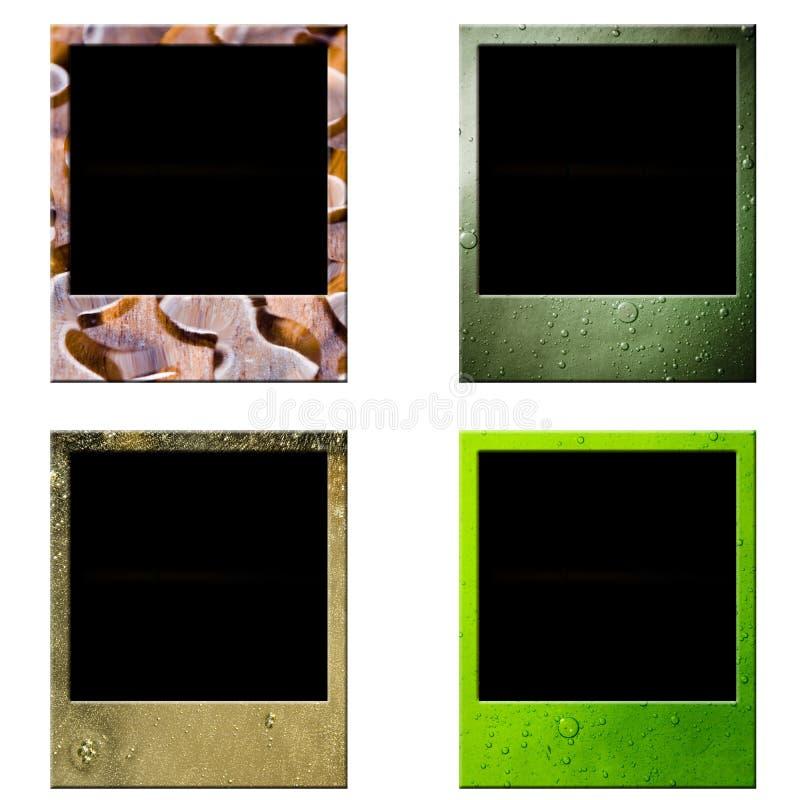 框架人造偏光板 免版税图库摄影