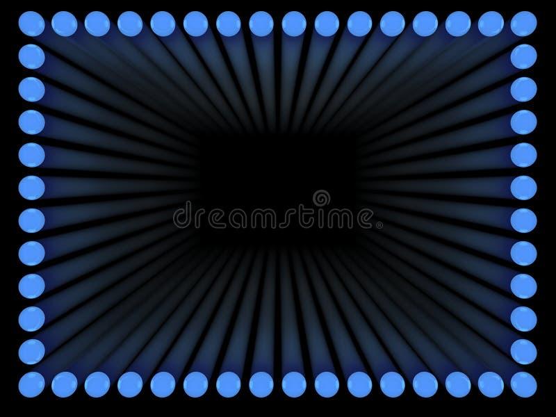 框架光 向量例证