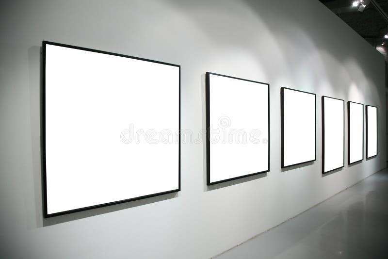 框架围住白色 免版税库存图片