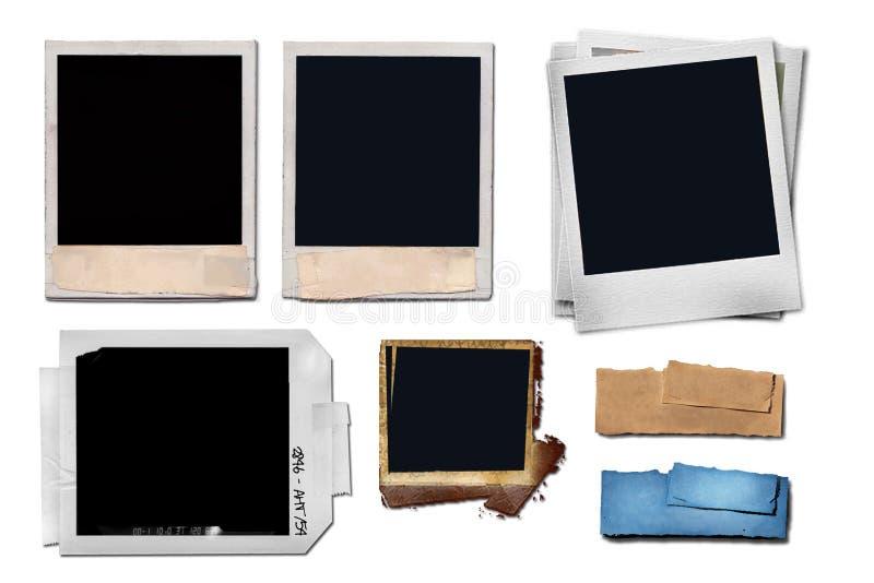 框架图象您插入的照片 向量例证