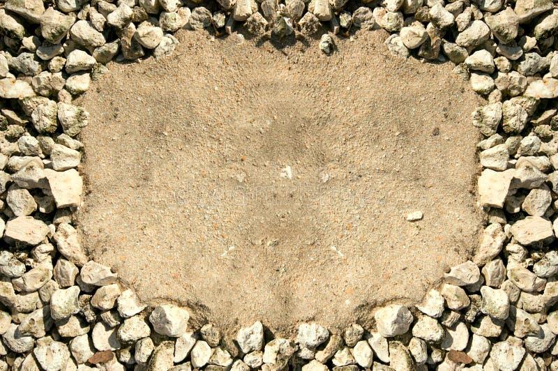 框架岩石 库存图片