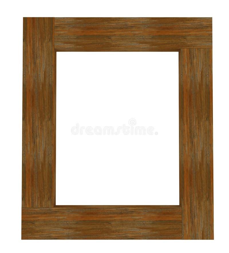 框架木头 皇族释放例证