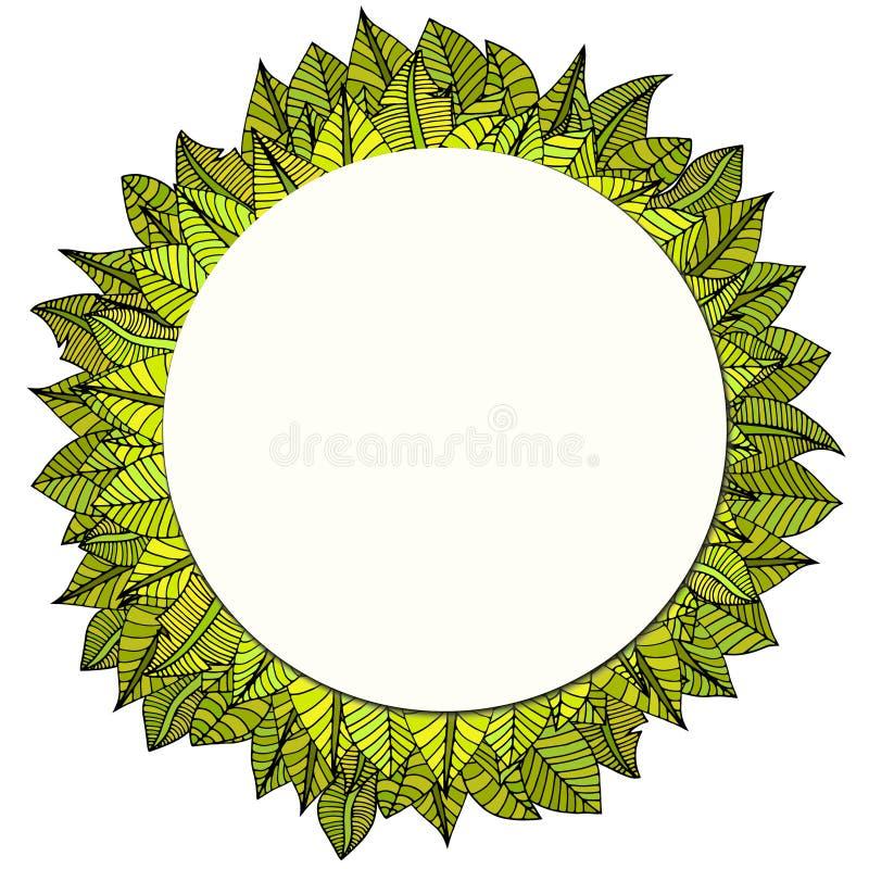 Download 框架构成叶子本质系列 向量例证. 插画 包括有 brander, 装饰品, 节假日, 干净, 国界的, 自然 - 59104587