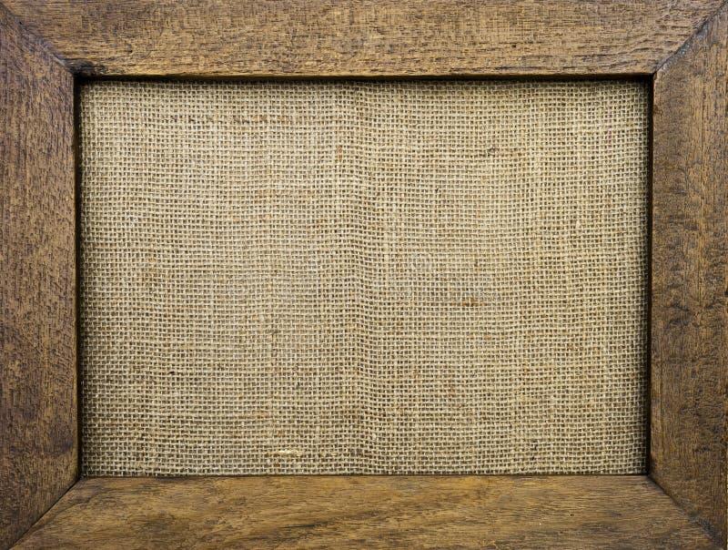 框架查出的照片葡萄酒空白木xxl 免版税库存图片