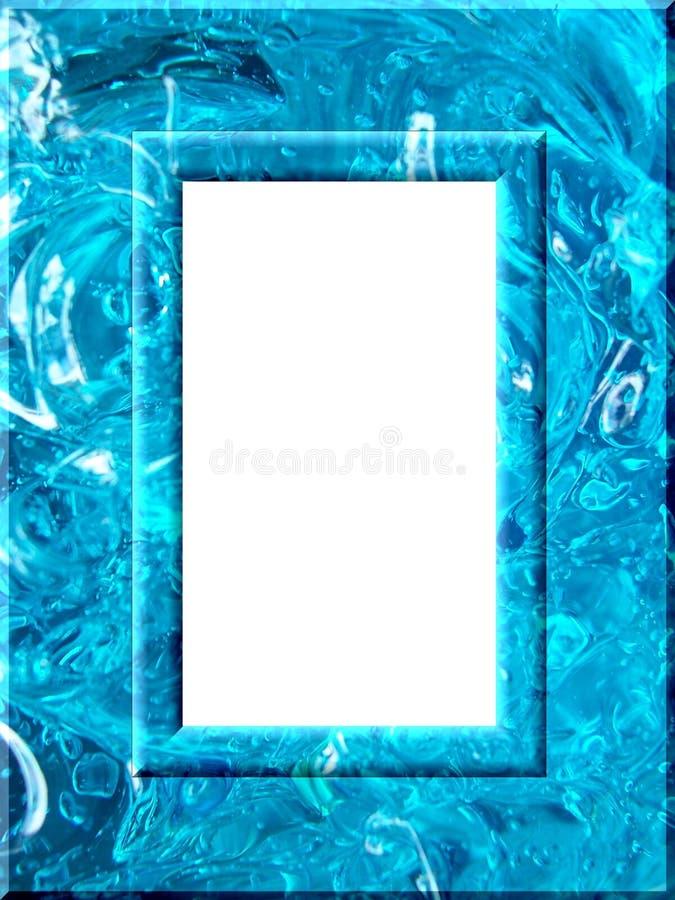 框架液体 向量例证