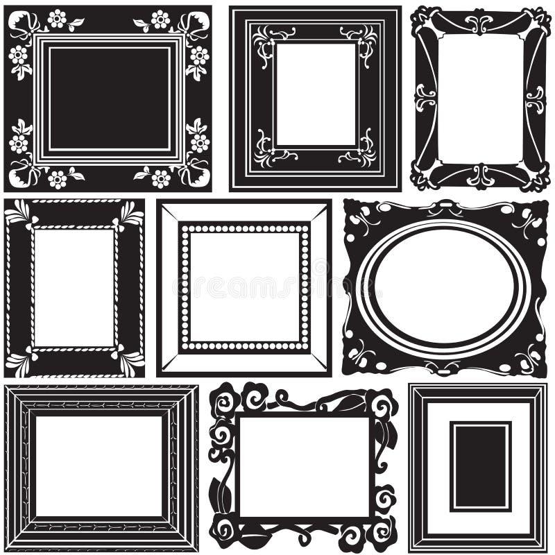 框架照片向量 向量例证