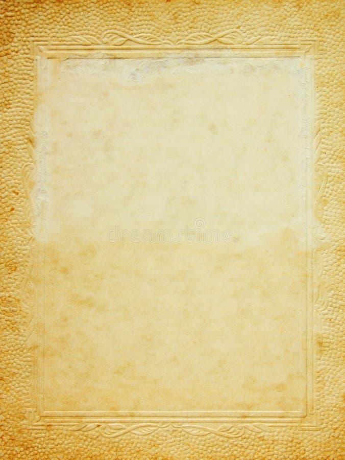 框架照片葡萄酒 免版税库存照片