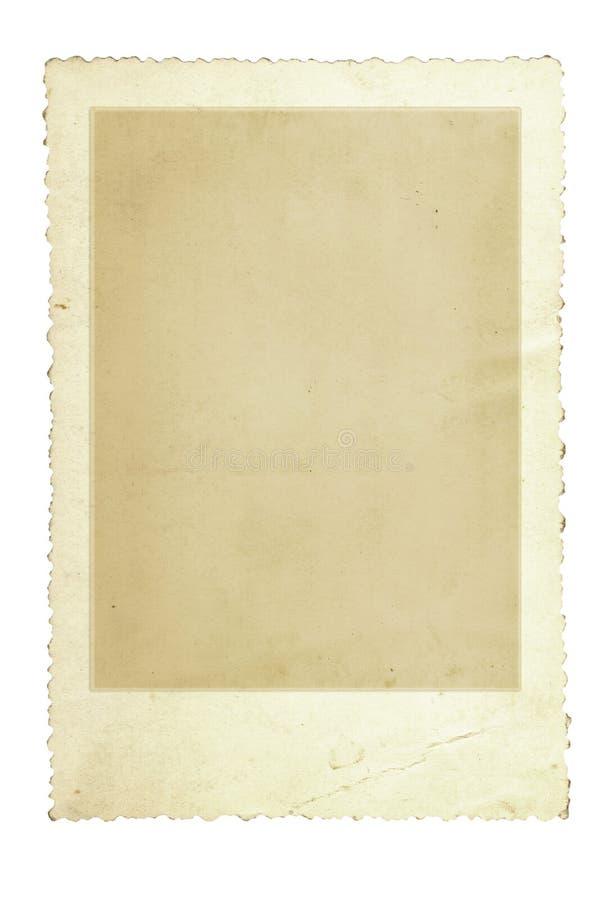 框架照片葡萄酒 皇族释放例证