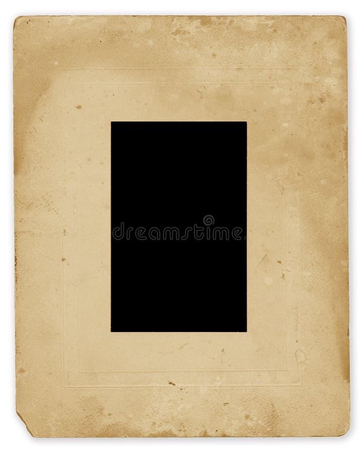 框架照片葡萄酒 库存照片