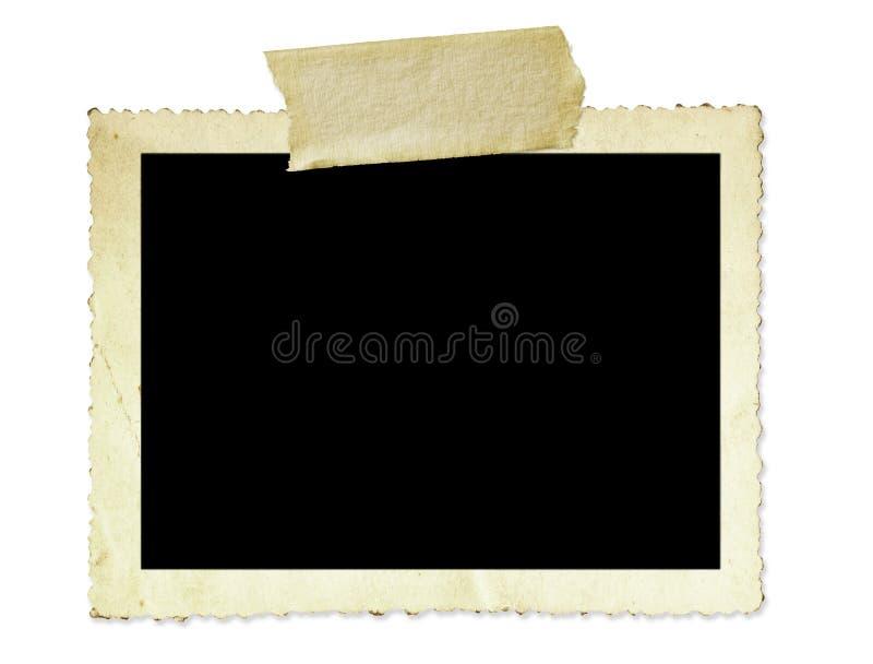 框架照片葡萄酒 免版税图库摄影