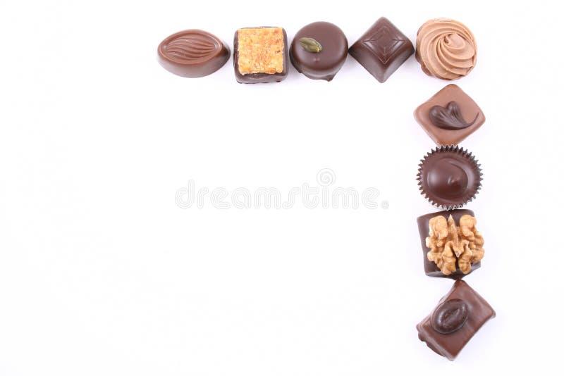 框架甜点 库存图片