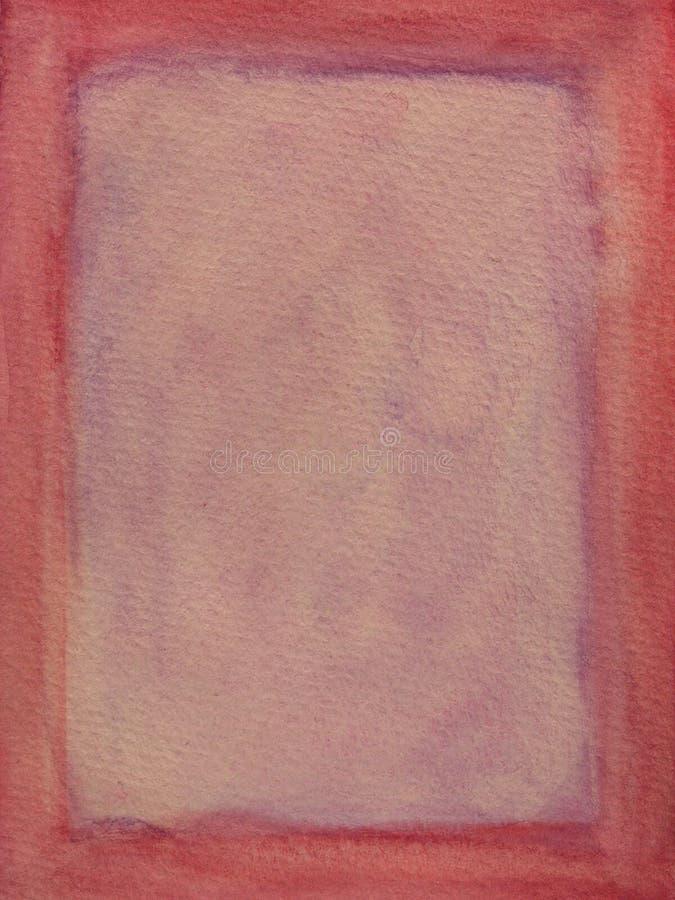 框架紫色红色 库存图片