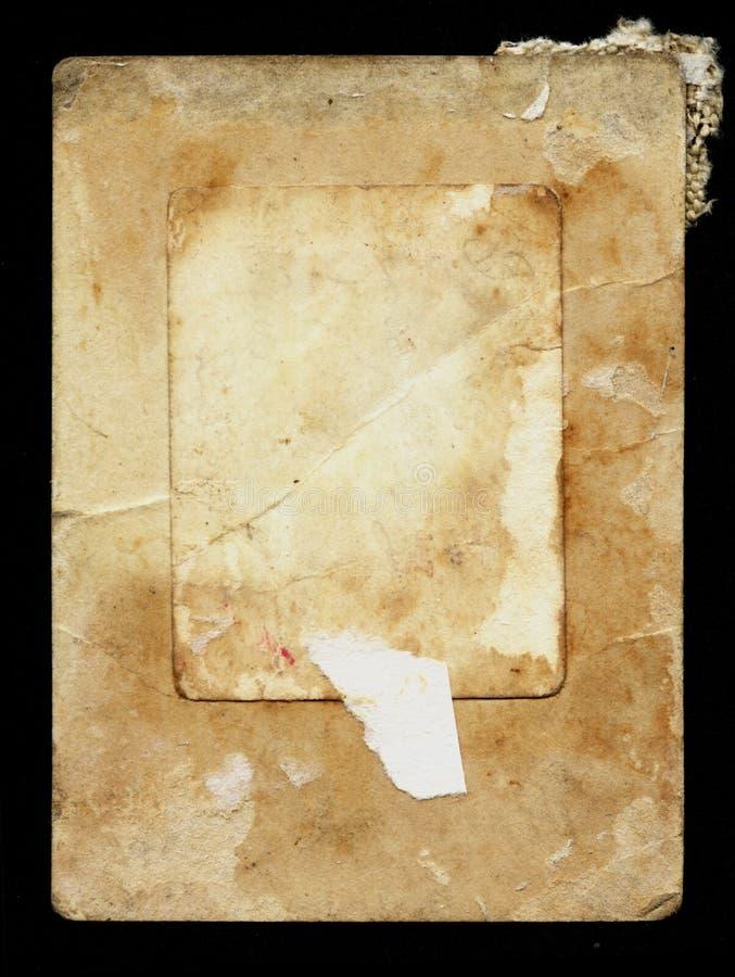 框架纸葡萄酒 免版税库存图片