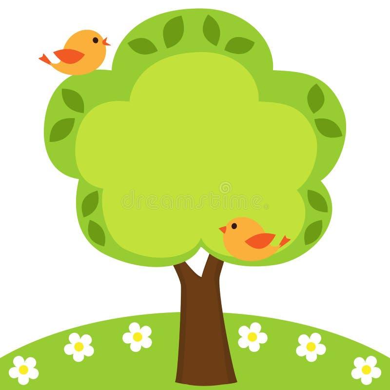 框架结构树 库存例证
