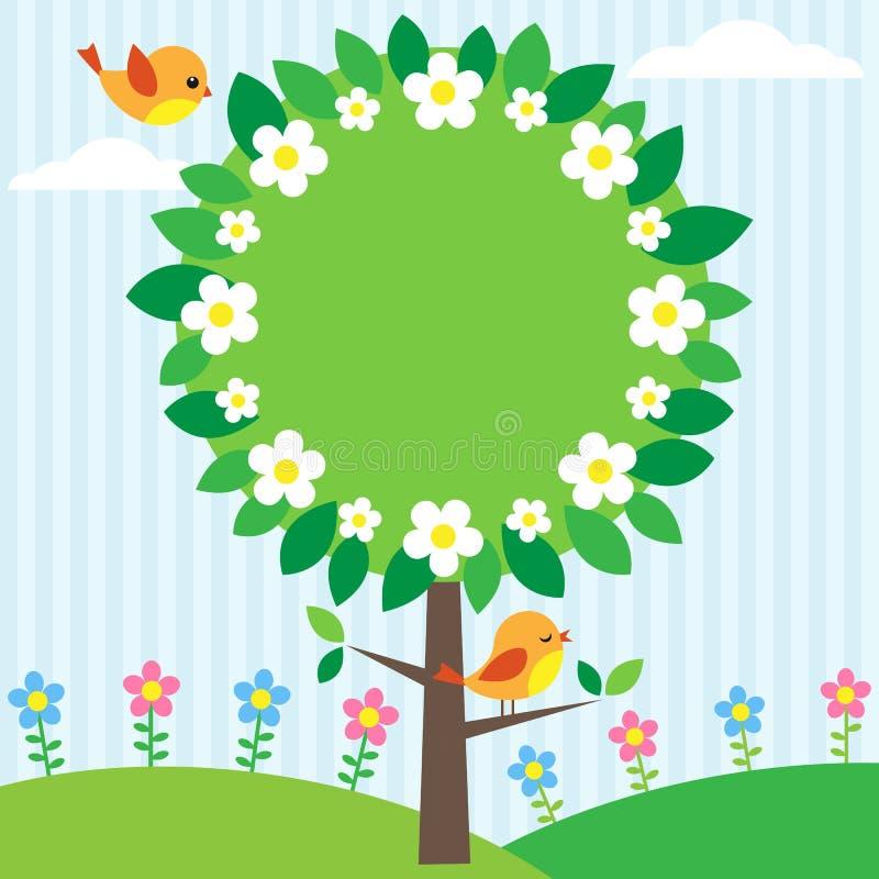 框架结构树 向量例证