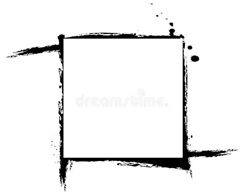 框架绘了 皇族释放例证