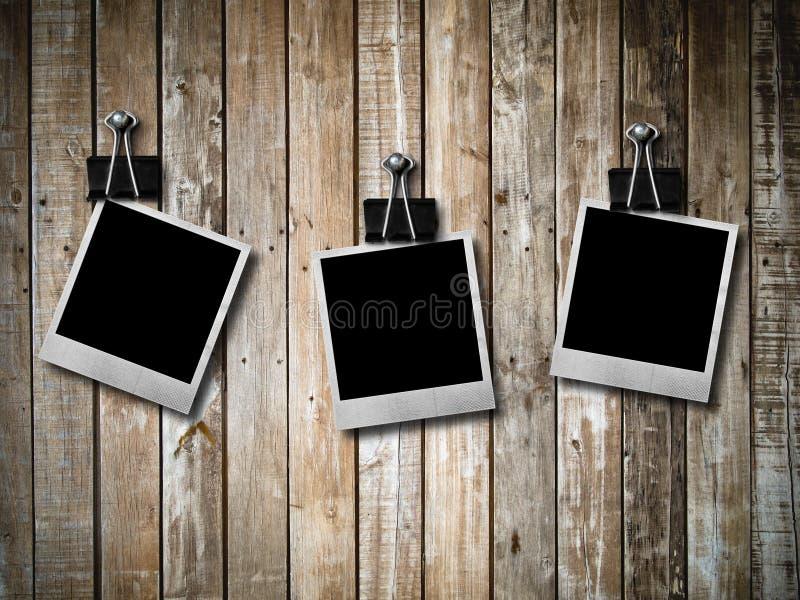 框架老照片人造偏光板三 库存照片