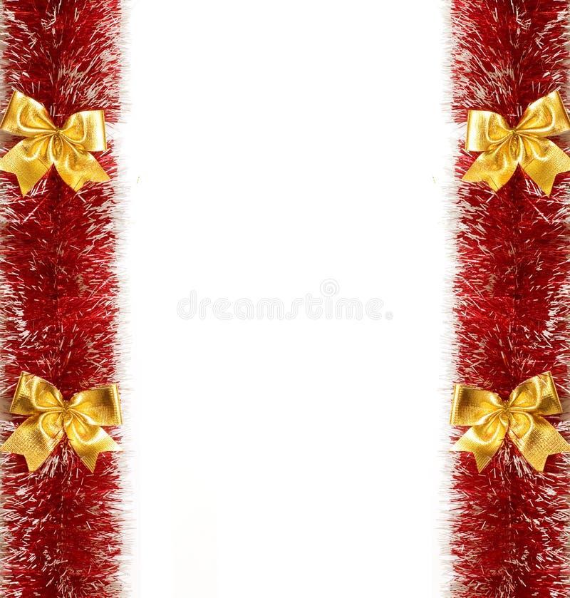 框架节假日红色 免版税库存图片