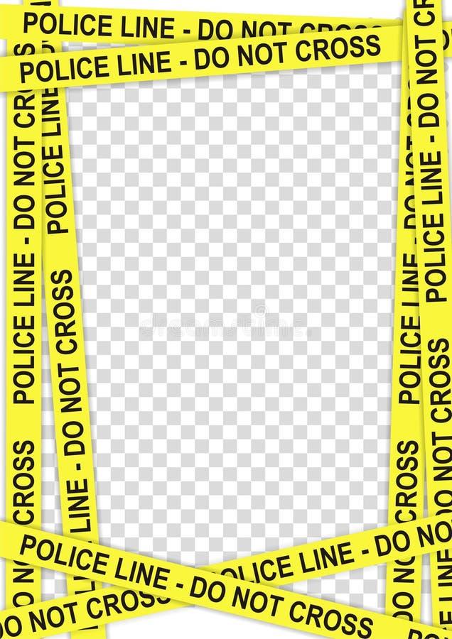 框架警察 图库摄影