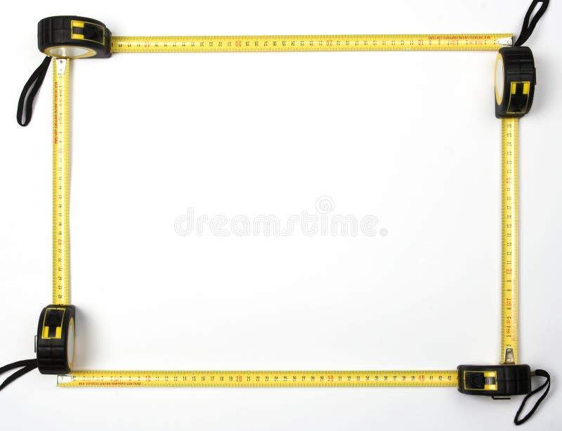 框架评定磁带 库存图片