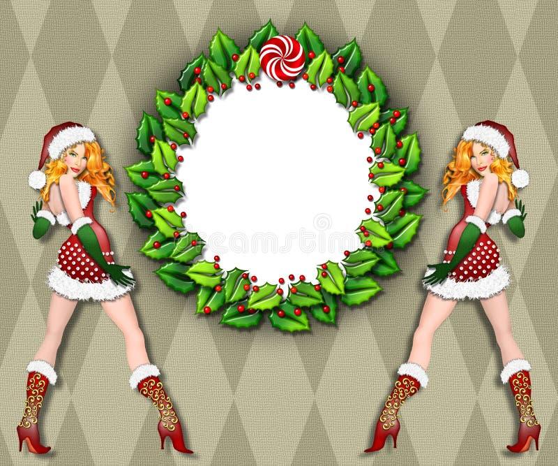 Download 框架辅助工s性感的圣诞老人 库存例证. 插画 包括有 毛皮, 礼品, 手套, 放血, 庆祝, 在旁边, 方式 - 3650911