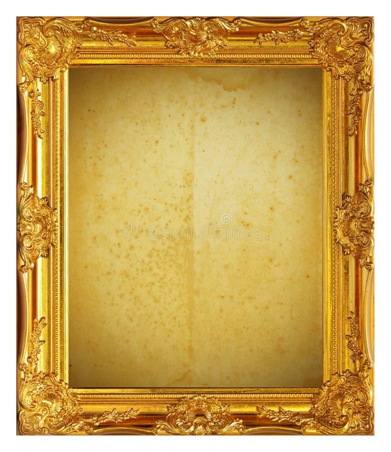 框架金子 库存照片