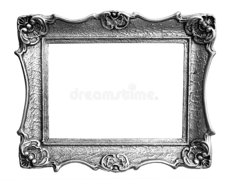 框架银 图库摄影