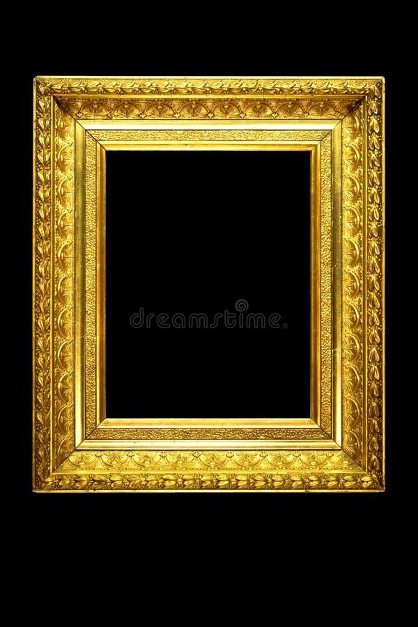 框架镜子华丽照片 库存图片