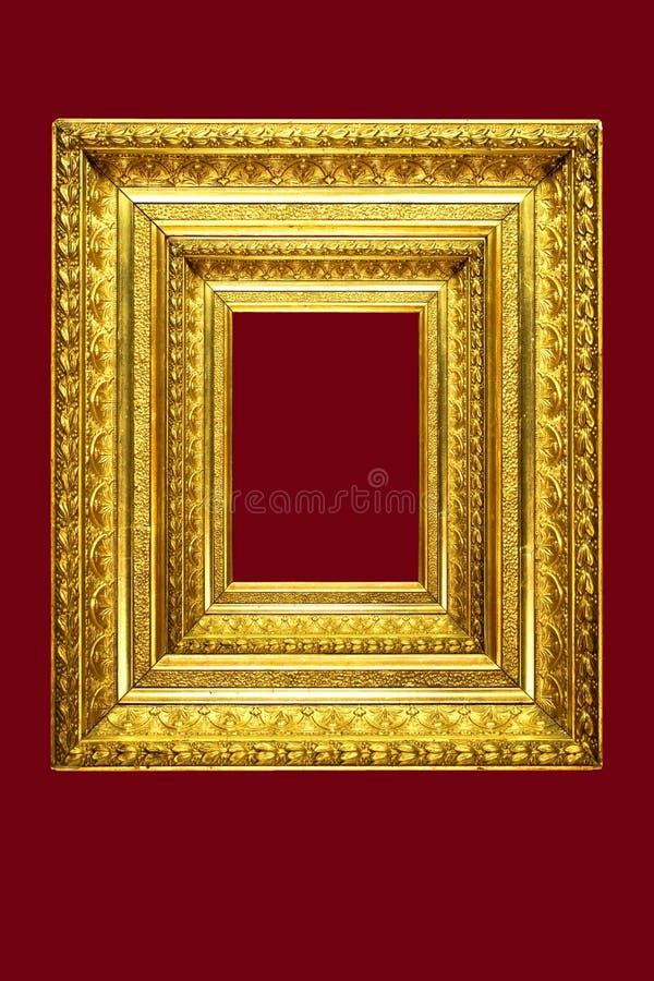 框架镜子华丽照片 免版税图库摄影