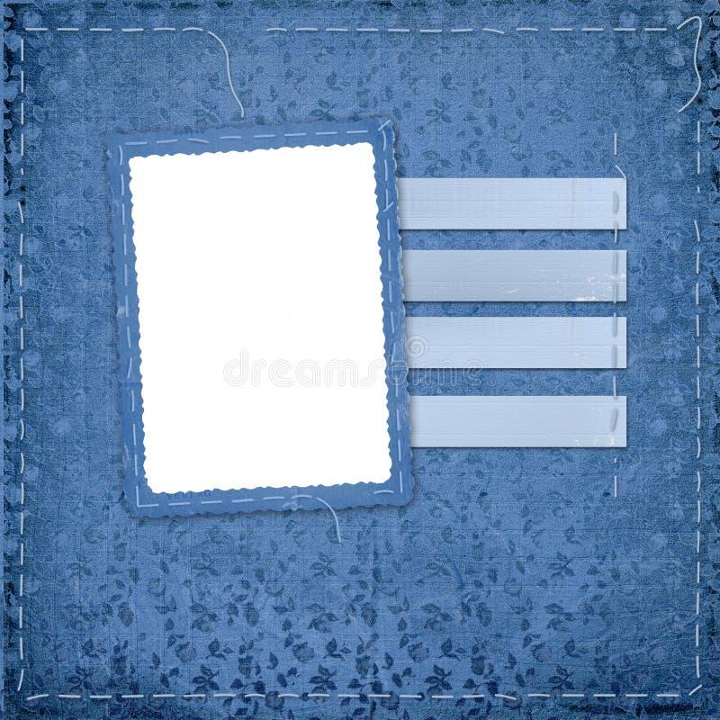 框架问候照片 库存照片