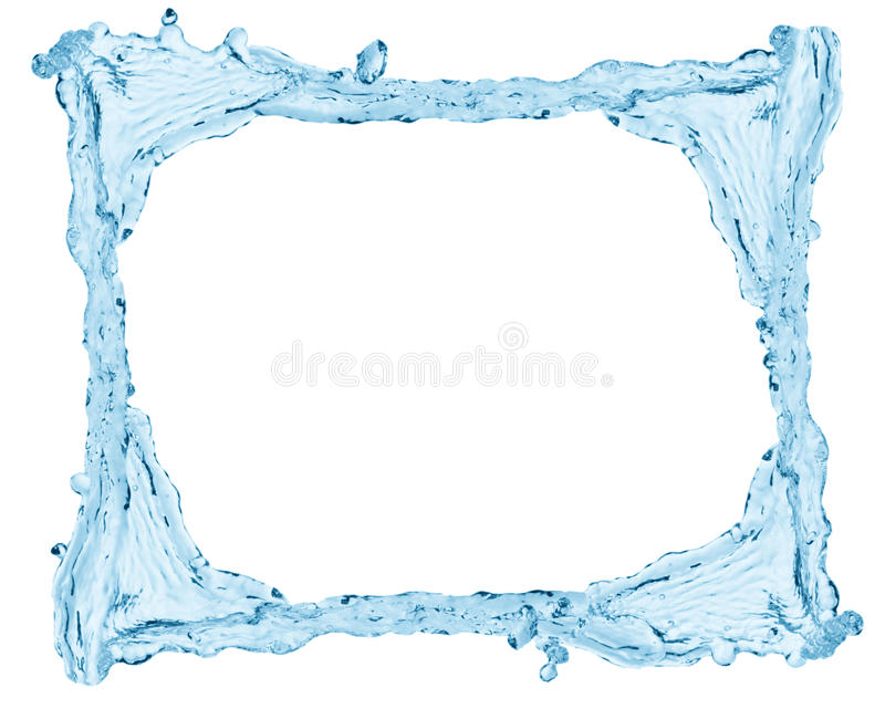 水框架 免版税库存图片