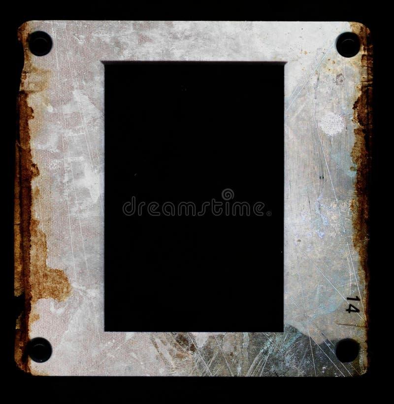 框架grunge照片 向量例证