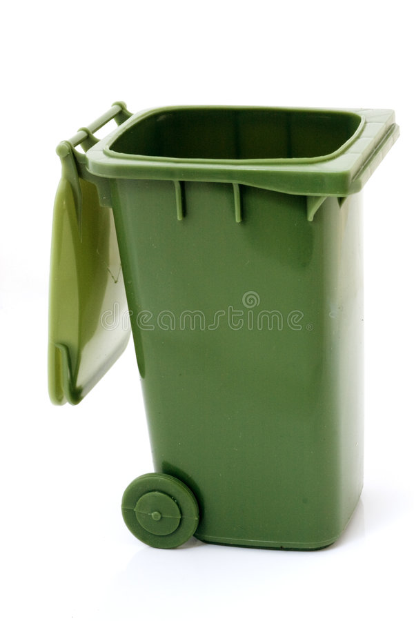 框绿色回收 免版税库存照片