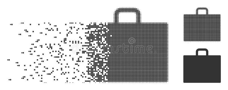 案件被分解的映象点中间影调象 库存例证