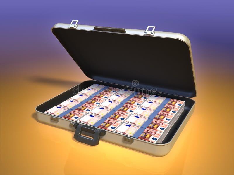 案件货币 向量例证