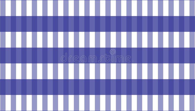 桌布格子花呢披肩的,背景,桌布方格花布样式为 向量例证