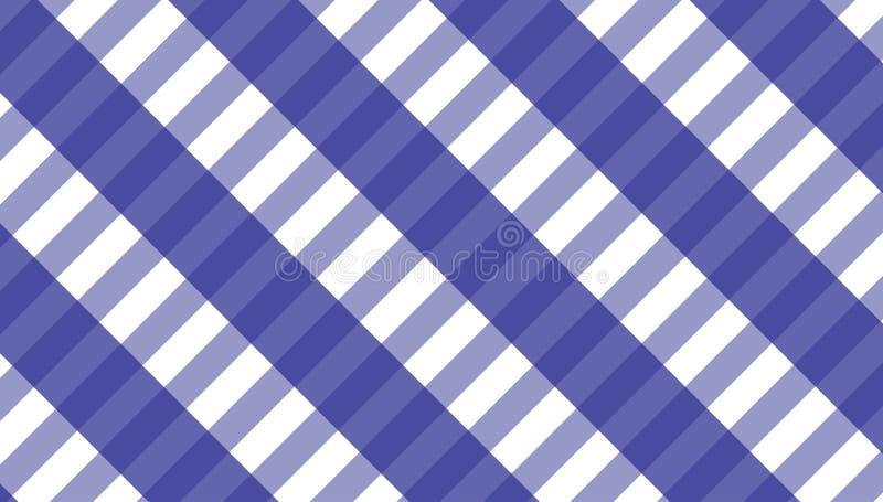 桌布格子花呢披肩的,背景,桌布方格花布样式为 皇族释放例证