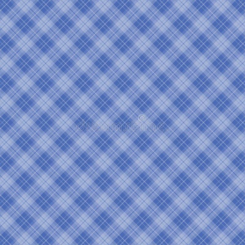 桌布-方格花布纹理2 向量例证