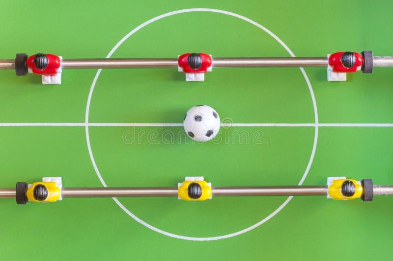 桌足球 库存图片