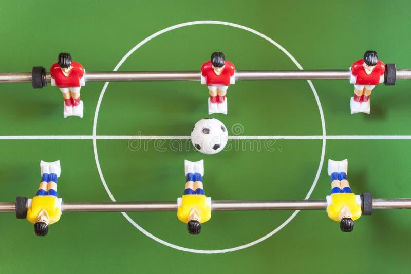 桌足球 免版税库存图片